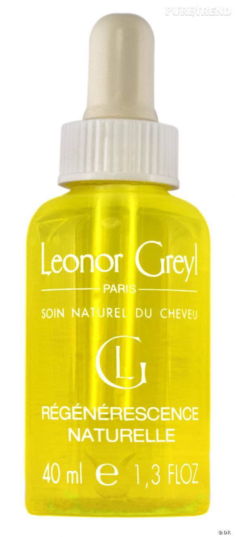 Notre shopping spécial huiles essentielles     Cette huile capillaire mêle les bienfaits de l'huile de bourrache et de mimosa tenuiflora à ceux des huiles essentielles pour un cuir chevelu assaini et regénéré.      Régénérescence Naturelle de Leonor Greyl, 31 euros (40 ml)