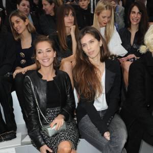 Melissa Theuriau et Maïwenn au défilé Chanel Automne-Hiver 2012/2013 à Paris.
