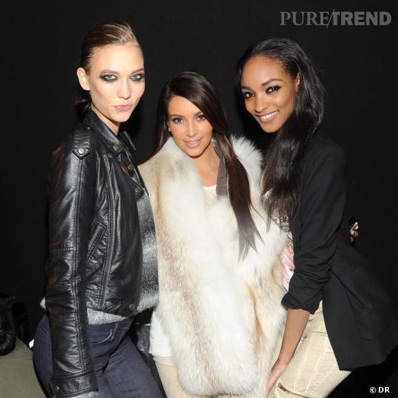 Karlie Kloss, Kim Kardashian et Jourdan Dunn