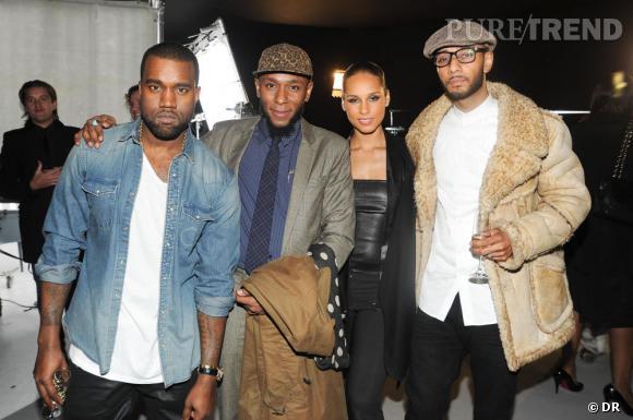 Kanye West, Mos Def, Alicia Keys, Swizz Beatz