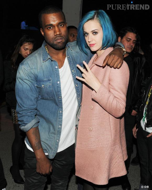 Kanye West et Katy Perry