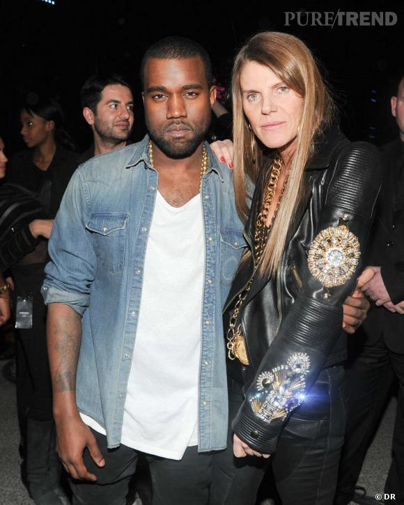 Kanye West et Anna Dello Russo