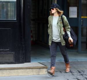 Drew Barrymore, la classe militaire... A shopper !