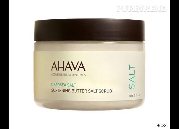 Beurre de sel exfoliant de Ahava, 30 €.