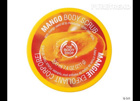 Exfoliant corporel à la mangue de The Body Shop, 13 €.