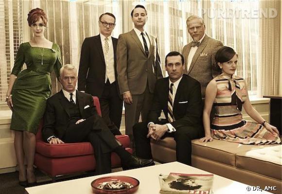 Mad Men est de retour le dimanche soir sur la chaine AMC aux Etats-Unis.