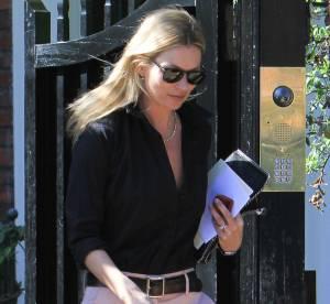 Kate Moss, décolleté chic