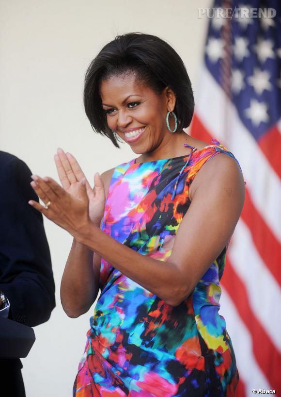 Michelle Obama, une Première dame que tout le monde aime.