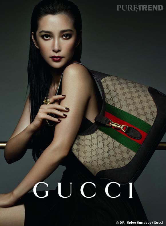 Campagne Gucci consacrée aux sacs à main, aux bijoux et aux montres de la marque.