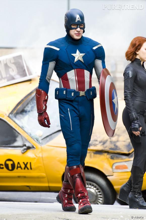 Chris Evans alias Captain America.
