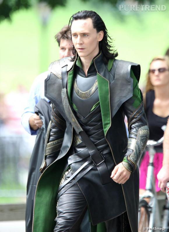 Tom Hiddleston alias Loki.