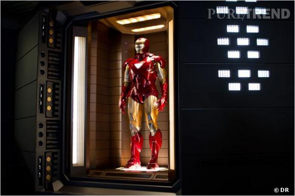 Robert Downey Jr. alias Iron Man.