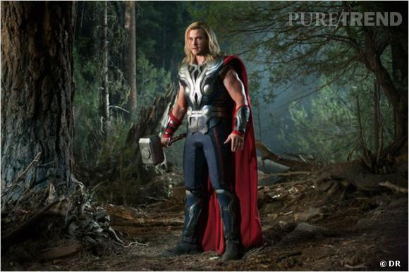 Chris Hemsworth alias Thor.