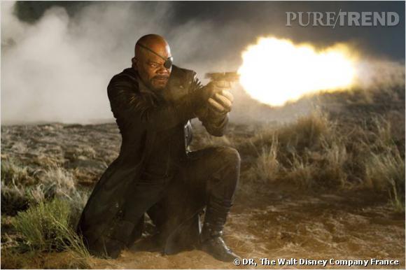 Samuel L. Jackson alias Nick Fury.