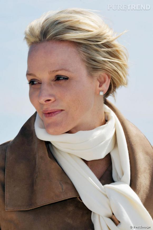 Charlène Wittstock à Monaco.