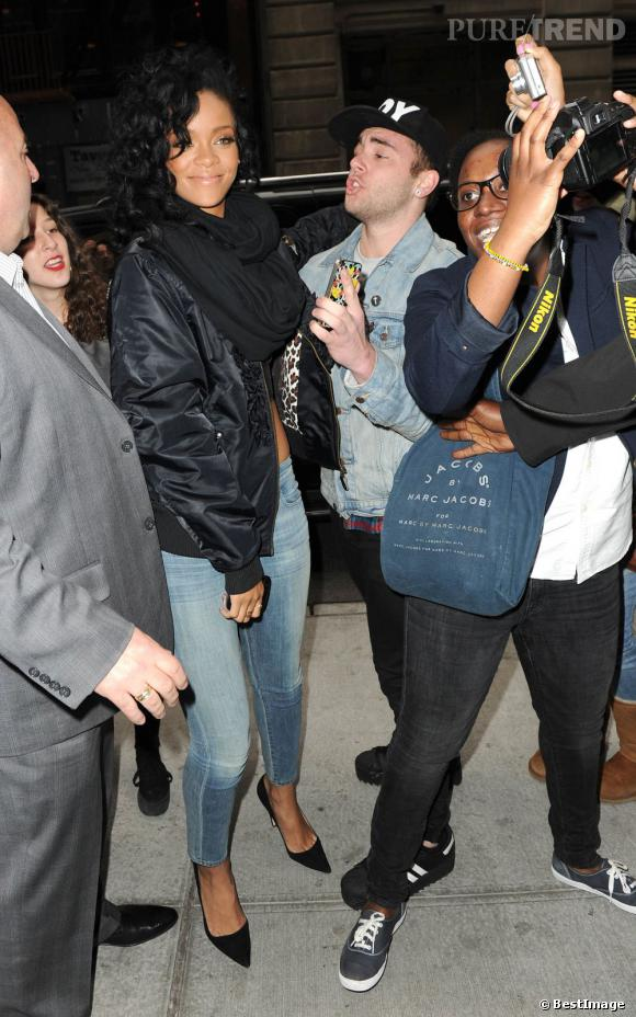 Fan rencontre rihanna