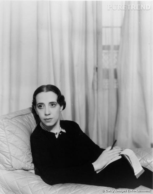 Elsa Schiaparelli en 1934.