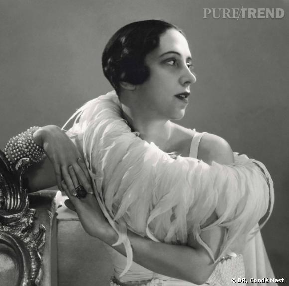 Portrait d'Elsa Schiaparelli, 1932, par George Hoyningen-Huené. Courtesy of Hoyningen-Huené/Vogue/Condé Nast Archive