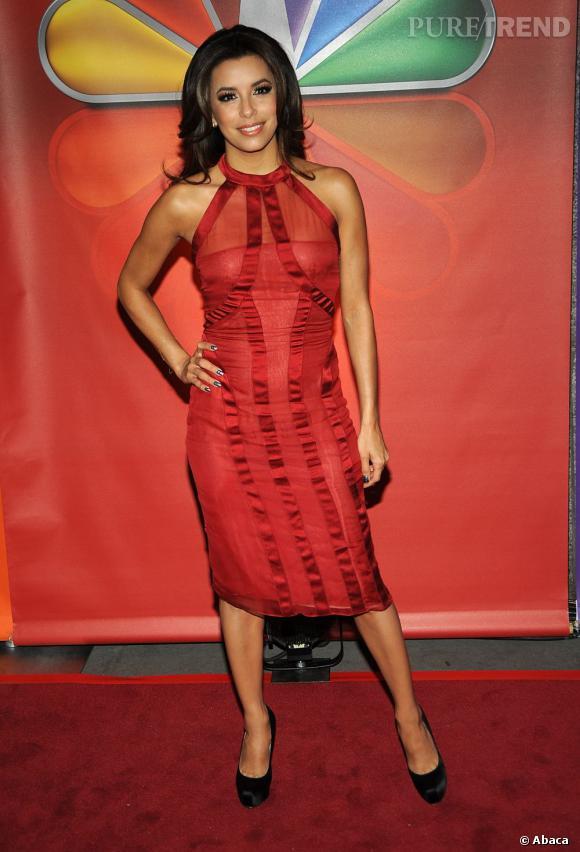 Eva Longoria au NBC Upfront Presentation à New York le 14 mai.
