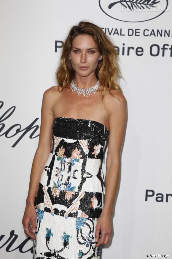 Erin Wasson à la Mystère Party de Chopard à Cannes.