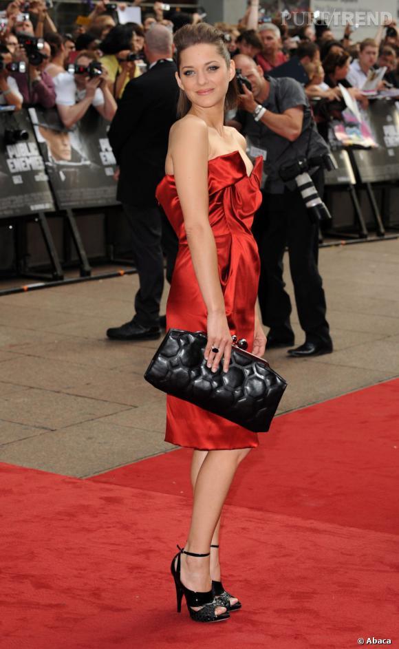 Marion Cotillard glam rock en Vivienne Westwood.