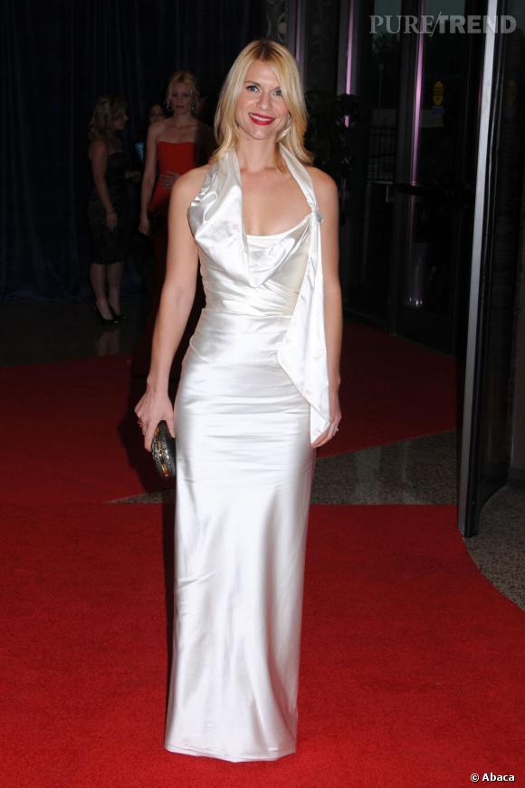 Claire Danes sublimée par Vivienne Westwood.