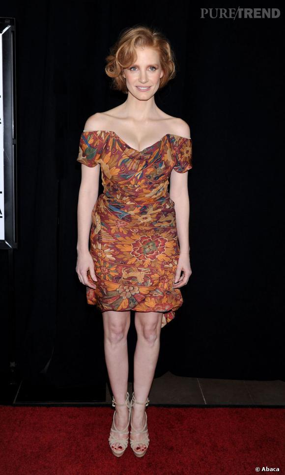 Jessica Chastain ultra-sexy en Vivienne Westwood.