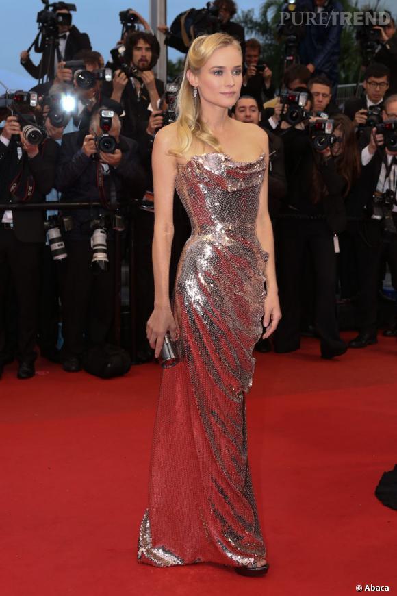 Diane Kruger sublime sirène en Vivienne Westwood.