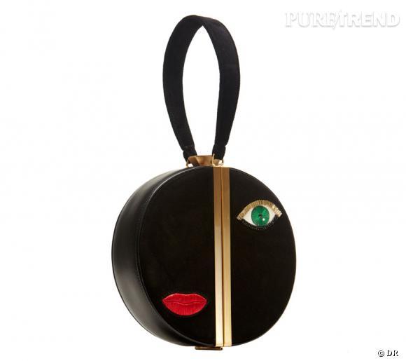 Fetish Box Clutch de Diane Von Furstenberg, Automne 2012.   Numéro de téléphone lectrices : 01 40 70 00 90