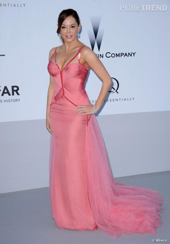 Rose McGowan en Atelier Versace.