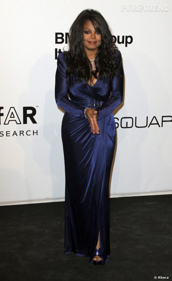 Janet Jackson a l'habitude des régimes yoyo.