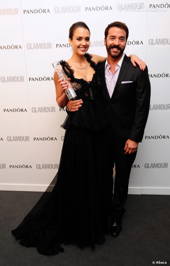 Jessica Alba a remporté le prix de la femme d'affaire de l'année.