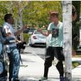 Justin Bieber attaque un paparazzi.