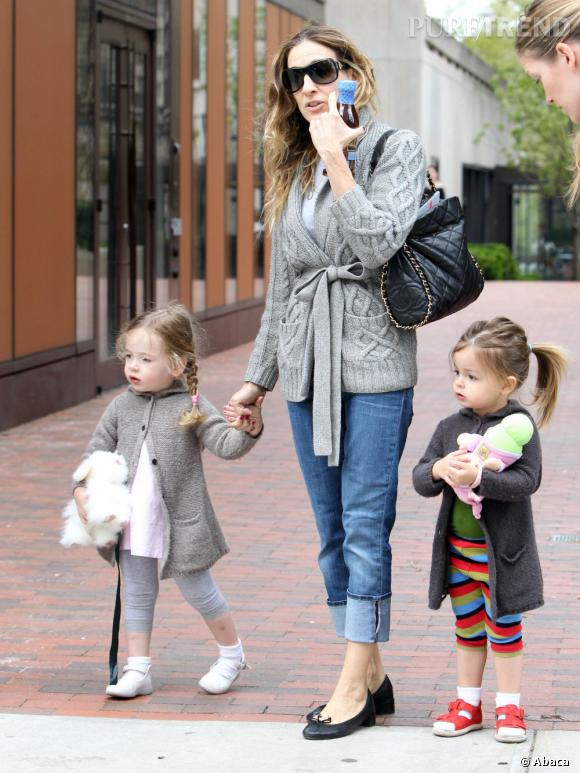 Sarah Jessica Parker : l'une de ses jumelles adopte toujours le même style qu'elle, tandis que l'autre (à droite) est déjà indépendante !