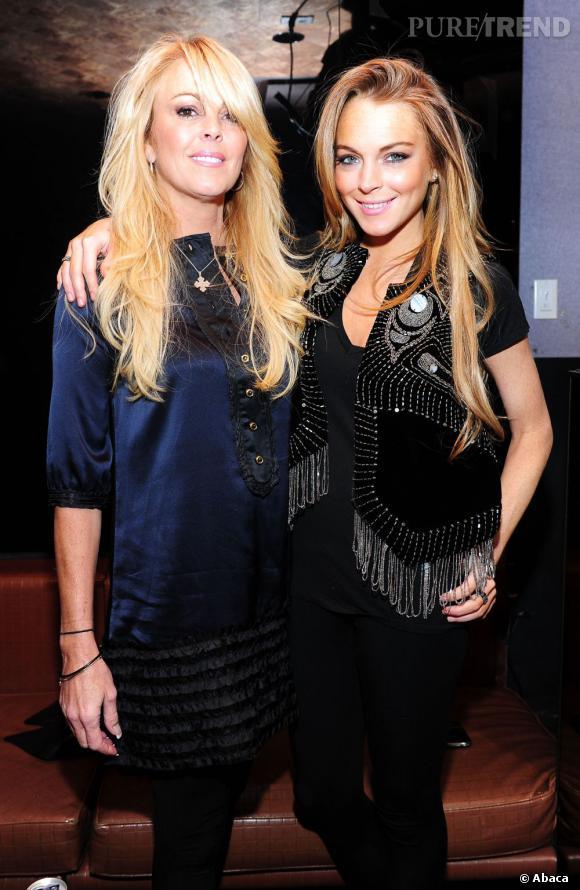 Lindsay Lohan et sa mère, les bombes platines.