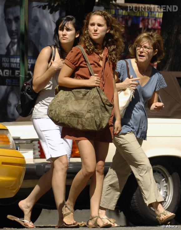 Natalie Portman et sa mère, dans le genre bobo new-yorkais on n'a pas mieux !
