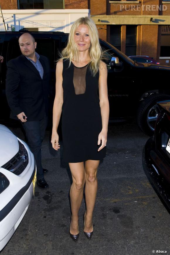 Gwyneth Paltrow a crée le scandale lors du concert de Jay Z et Kanye West.