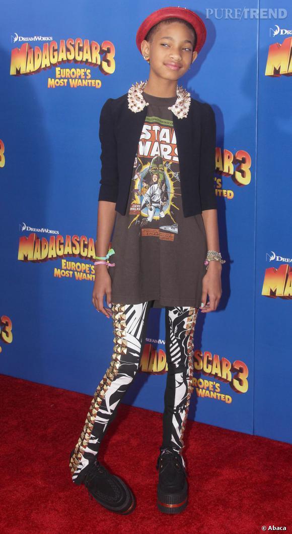 Willow Smith joue les ado geek et trash.