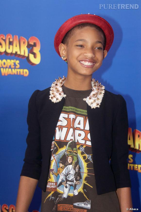 """Willow Smith à l'avant-première de """"Madagascar 3"""" à New York."""