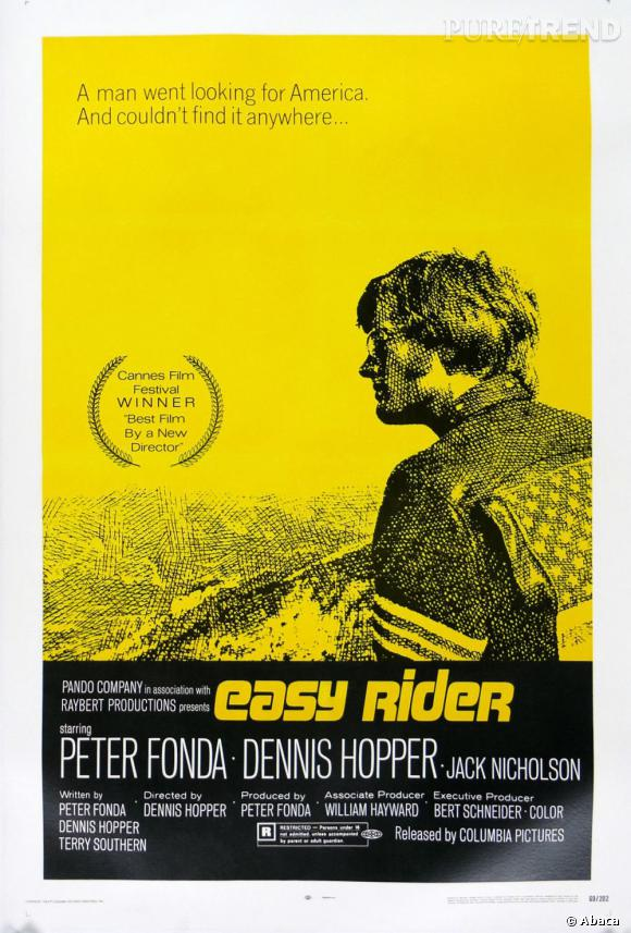"""Le film """"Easy Rider"""" inspirera à beaucoup le look motard..."""