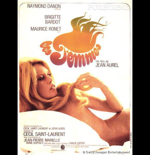 """Brigitte Bardot fait monter la température avec l'affiche de son film """"Les femmes"""""""