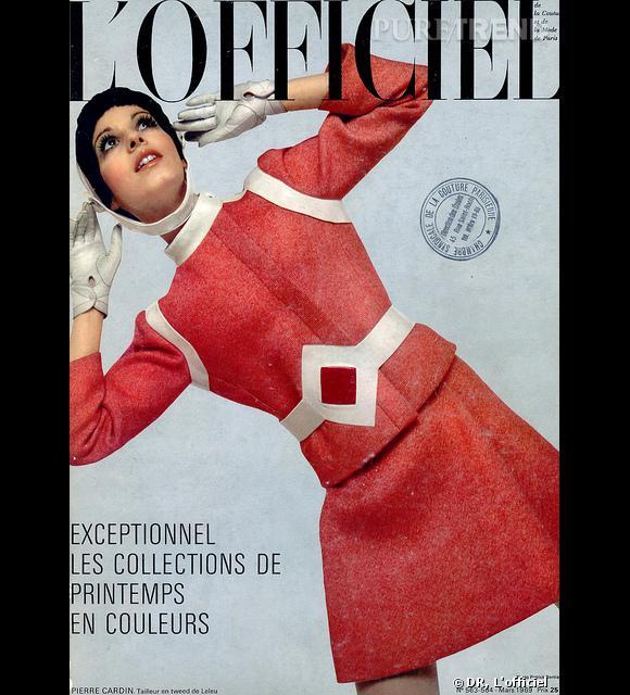 Une des couvertures de 1969 de L'Officiel prouve que les couleurs vives étaient déjà à la mode !