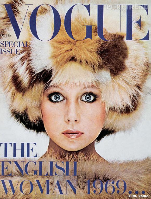 Déjà en 1969, les Anglaises fascinent le monde de la mode...
