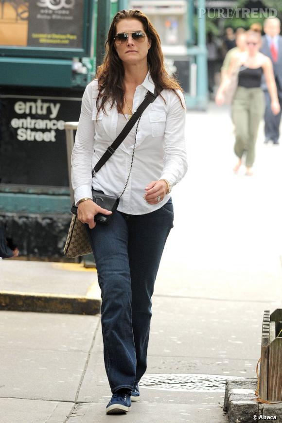 Brooke Shields, éternelle fille en jean.