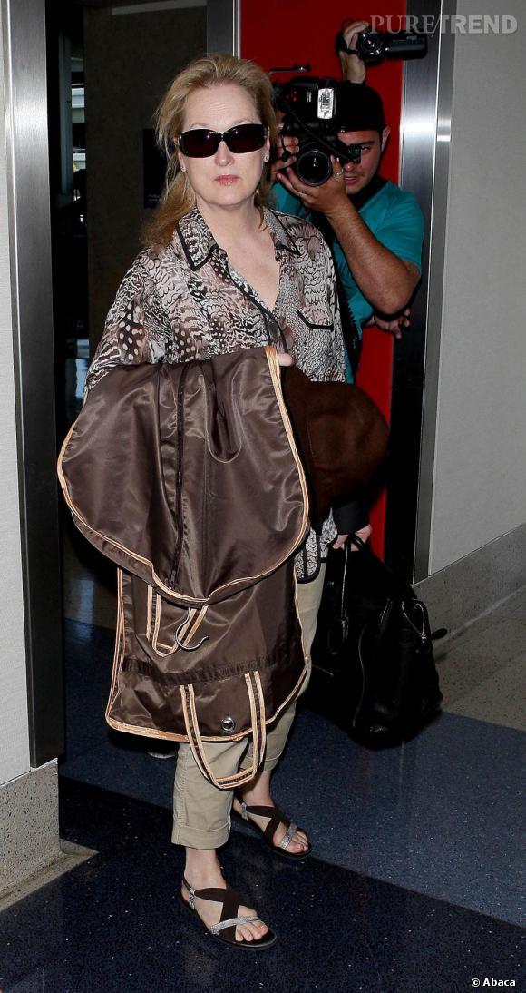 Meryl Streep fait enfin son âge et même un peu plus.