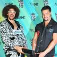 Le duo LMFAO qui animait la soirée avec Katy Perry