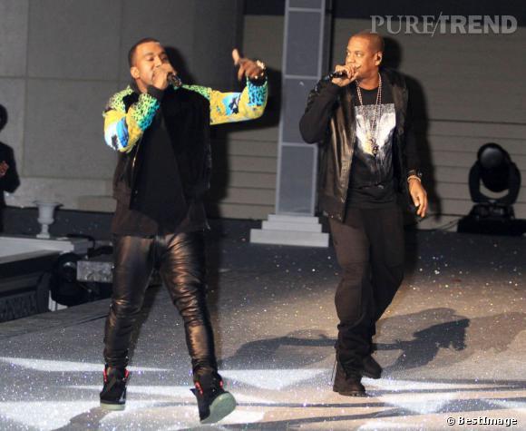 Jay-Z et Kanye West, 2 ghetto superstars passionnés de mode.