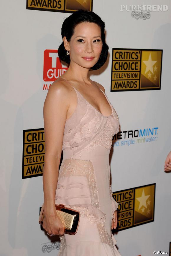 Lucy Liu aux Critics' Choice Television Awards 2010 à Beverly Hills.