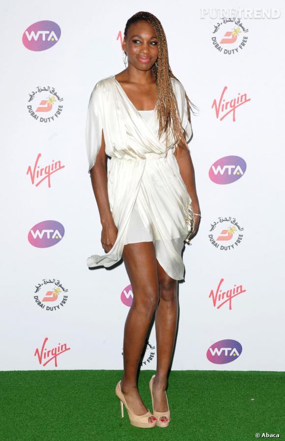 Venus Williams à la WTA Pre-Wimbledon Party à Londres le 21 juin.