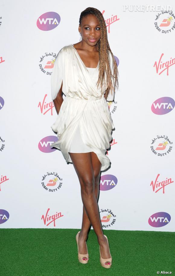 Venus Williams, une joueuse de tennis qui remporte tous les sets du style.